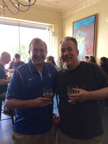Steve Fogleman and Volker Stewart, Brewer's Art 21st Anniversary